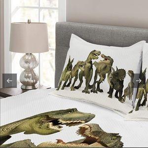 Ambesonne Dinosaur King Pillow Case